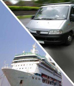 port minivan